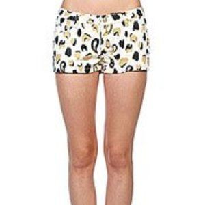 Insight Known Rivals Low Rider Leopard Shorts NEW